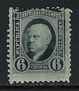 ARGENTINA 72 MOG Z2818