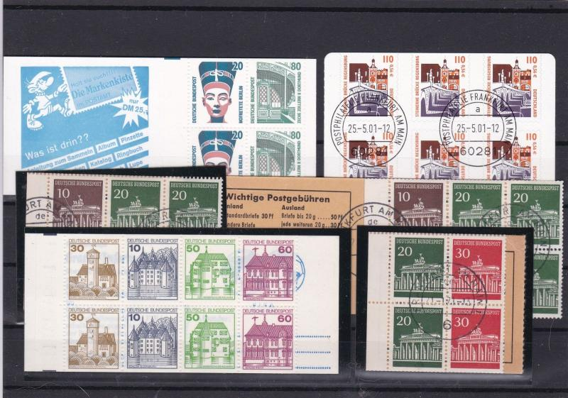 germany buildings stamps ref 16222