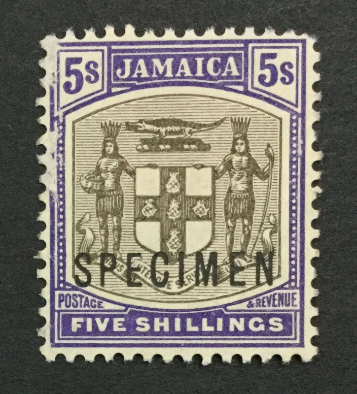 MOMEN: JAMAICA SG #45s 1905 SPECIMEN UNUSED LOT #191628-565