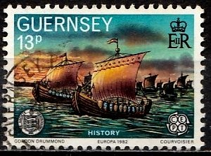 Guernsey 1982 SG. 254 used (10817)