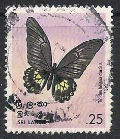Sri Lanka ~ Scott # 534 ~ Used