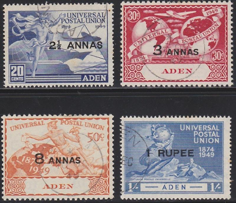 Aden 32-35 used (1949)