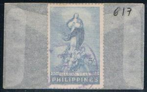 Philippines 617 Used Immaculate Conception 1954 (P0216)