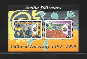 ARUBA #179a  DISCOVERY OF ARUBA S/S  MNH