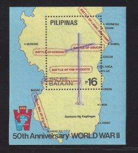 2158-2159 WWII/Bataan/Corregidor/Maps CV$13