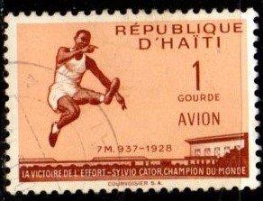 Haiti - #C117 Sylvio Cator - Used