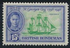 British Honduras SG 171 SC # 136 MLH Battle of St George's Cay please see scan