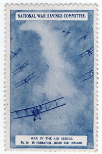 (I.B-CK) Cinderella : National War Savings (War in The Air Series 19)