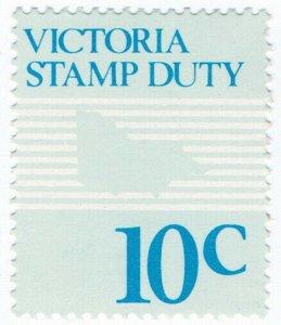 (I.B) Australia - Victoria Revenue : Stamp Duty 10c