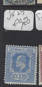 CAYMAN ISLANDS (P1111B)   KE  2 1/2D  S 27  MOG