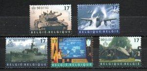 Belgium 1728-1732 MNH