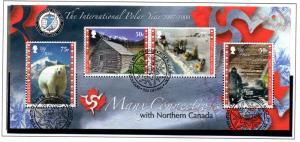 Isle of Man Sc 1227 2007 Int Polar Year stamp sheet used