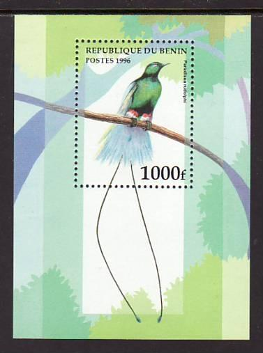Benin Bird 896 Souvenir Sheet MNH VF