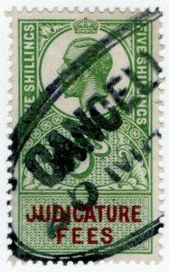 (I.B) George V Revenue : Judicature Fees 5/-
