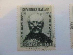 Italy Italia 1952 25L usato fine stamp A5P10F42