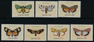 Angola 675-81 MNh Butterflies