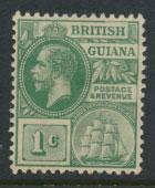 British Guiana SG 259 Mint Hinged  (Sc# 178 see details) Yellow Green
