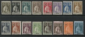 Tete 1914 Ceres complete set mint o.g. hinged