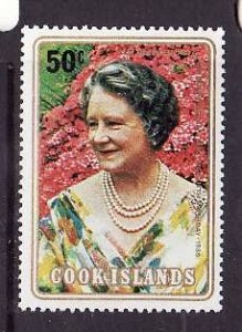 Cook Is.-Sc#554- id2-unused NH set-Queen Mother-80th Birthday-1980-
