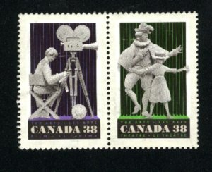 Can #1254-55   pair  used VF 1989 PD