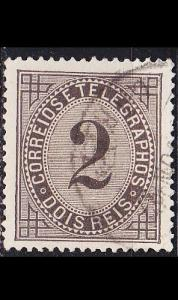 PORTUGAL [1884] MiNr 0059 C ( O/used )