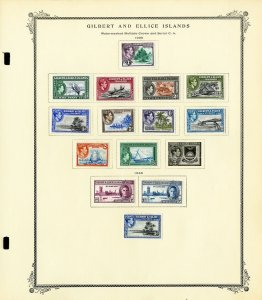 Gilbert & Ellice Mint 1930s to 1970s Clean Stamp Collection