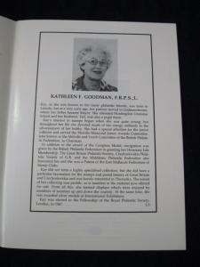 PHILLIPS AUCTION CATALOGUE 1983 'KAY GOODMAN' COLLECTION OF POSTAGE STAMPS