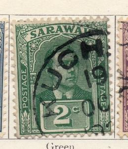 Sarawak 1918 Early Issue Fine Used 2c. 050862