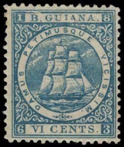 British Guiana Scott 64c Gibbons 71 Mint Stamp