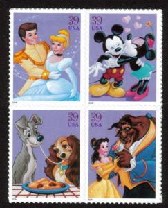 MALACK 4025 - 28,   39c Disney Characters,  Se - ten..MORE.. n8797