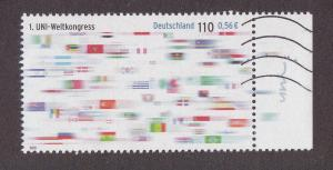 Germany # 2138, United Nations, Used, 1/2 Cat.