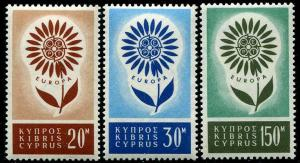 HERRICKSTAMP CYPRUS Sc.# 244-46 Europa Stamps Cat. Value $35.00