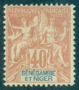 Senegambia & Niger #10  Mint  Scott $25.00   No Gum