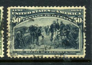 Scott #240 Columbian Used Stamp (Stock #240-8)