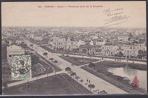 FRENCH INDOCHINA 1910 postcard HANOI to France.............................87764