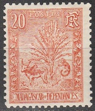 Madagascar #69  F-VF  Unused CV $6.50  (A11113)