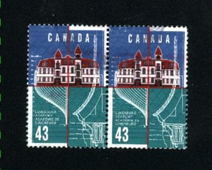 Canada #1558   pair  used VF 1995  PD
