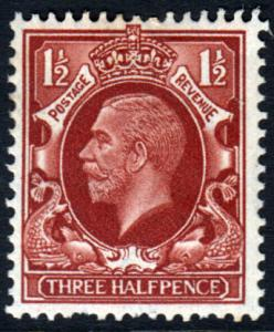 GB KGV 1934 1.5d Red-Brown SG441 Mint Hinged