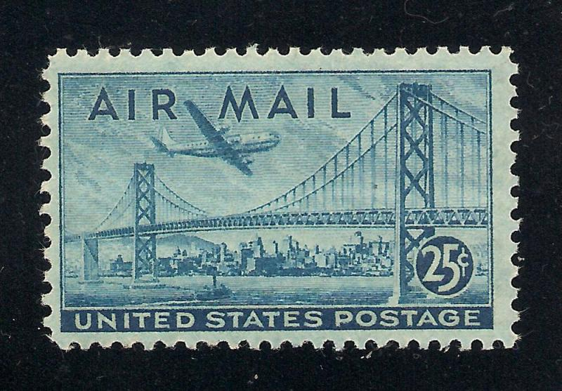 US#C36 Blue - Unused - O.G. - N.H.