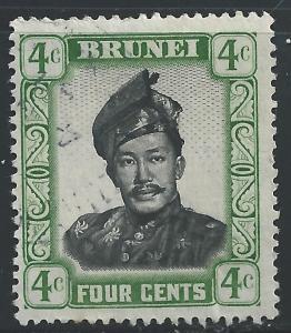 Brunei #86 4c Sultan Omar Ali Saifuddin