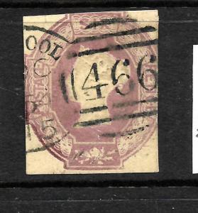 GREAT BRITAIN  1847-54  6d  DULL LILAC    QV    FU    SG 59
