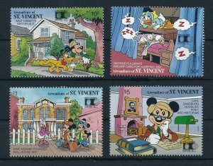 [22588] Grenadines of St. Vincent 1992 Disney Characters in Chicago USA MNH