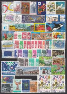 France - small stamp lot-1 (1003)