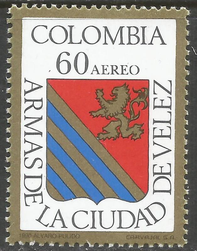 COLOMBIA C818 MNH ARMS L834