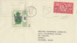 GB BRITISH AIR SERVICE BEA COVER JERSEY LOCAL COVER