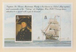 Tristan Da Cunha Scott #764 Stamps - Mint NH Souvenir Sheet
