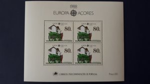 Europa CEPT - Portugal / Acores 1988. ** MNH Block