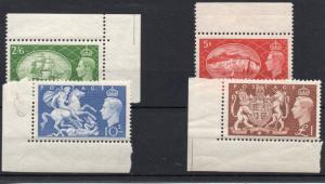GB QEII 1951 Festival set SG509/12 marginal superb MNH condition.