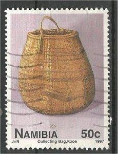NAMIBIA, 1997, used 50c, Pottery . Scott 830
