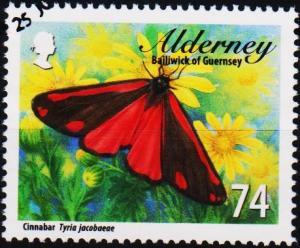 Alderney. 2012 74p fine Used
